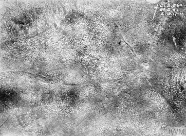 FIRST WORLD WAR 1914 - 1918: AERIAL RECONNAISSANCE (Q 42918) Passchendaele. Copyright: © IWM. Original Source: http://www.iwm.org.uk/collections/item/object/205022492