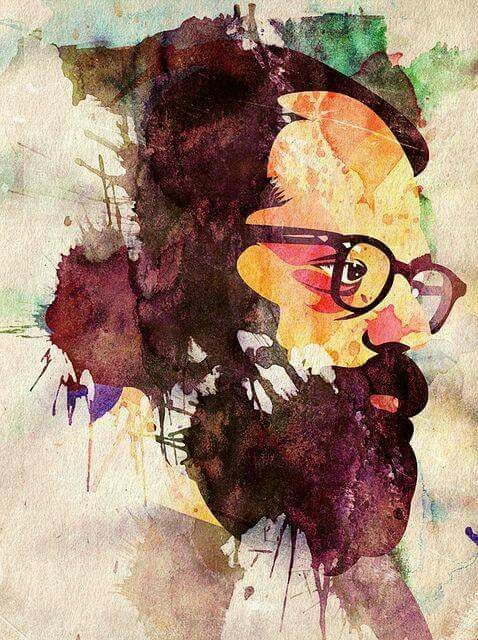 Allen Gingsberg painting 2