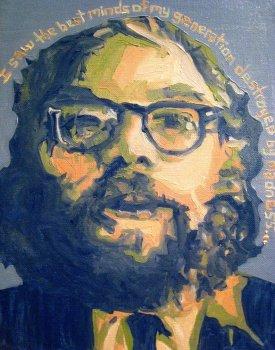 Allen Gingsberg painting 3