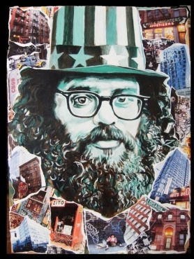 Allen Gingsberg painting