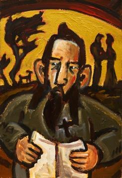 James K Baxter painting 2
