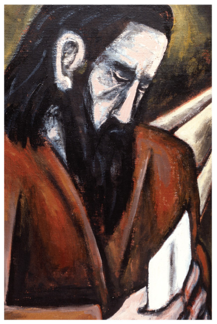 James K Baxter painting 3